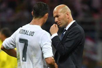 Zidane sait gérer sa star préférée, Ronaldo